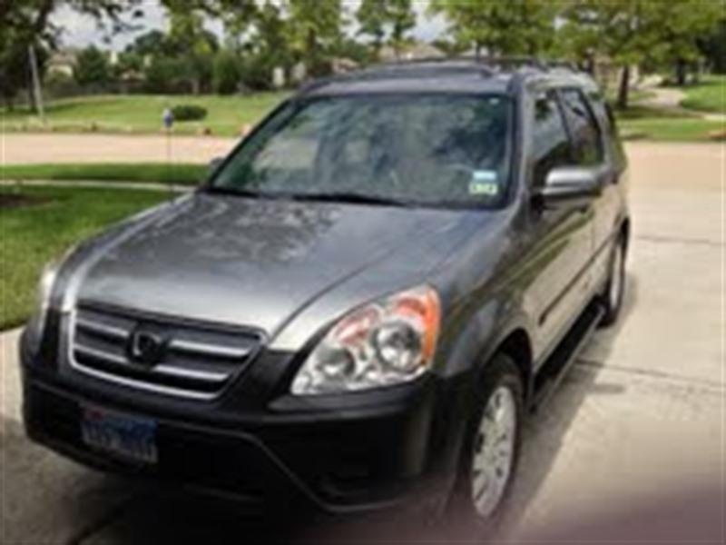 2006 Honda Cr V For Sale By Owner In Houston Tx 77299