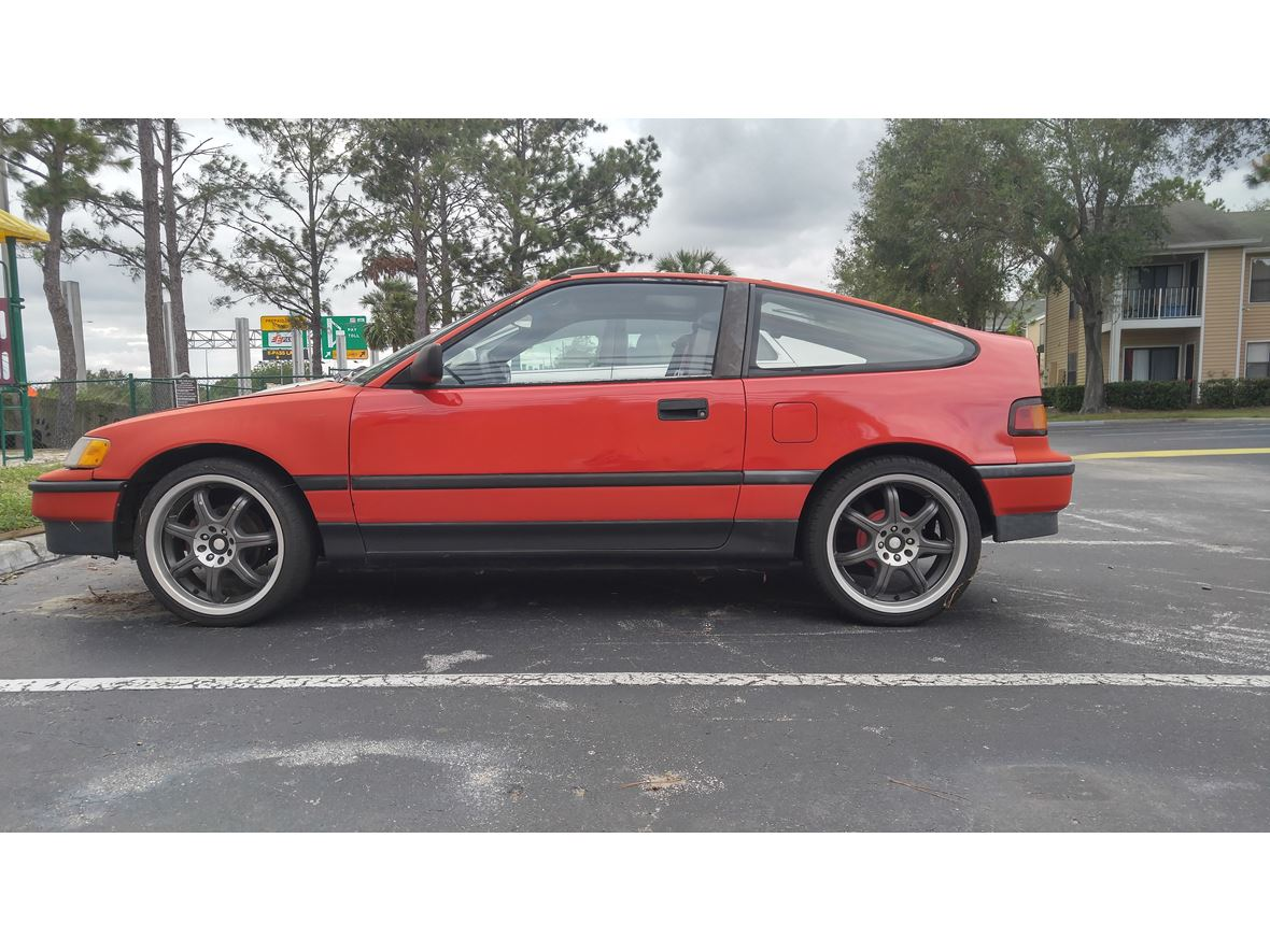 1989 Honda Crx si for sale by owner in Orlando