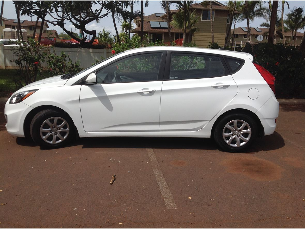Hyundai Accent Hatchback >> 2014 Hyundai Accent Hatchback For Sale By Owner In Lahaina Hi 96761 9 000