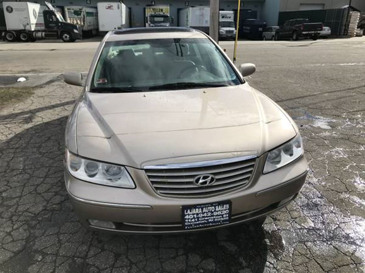 2006 hyundai azera for sale by owner in westport ma 02790. Black Bedroom Furniture Sets. Home Design Ideas