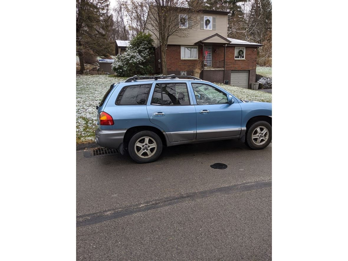 2003 Hyundai Santa Fe for sale by owner in Clairton