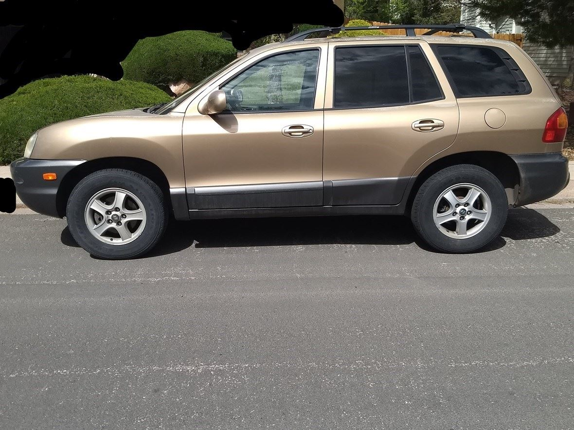 2004 Hyundai Santa Fe GLS for sale by owner in Colorado Springs