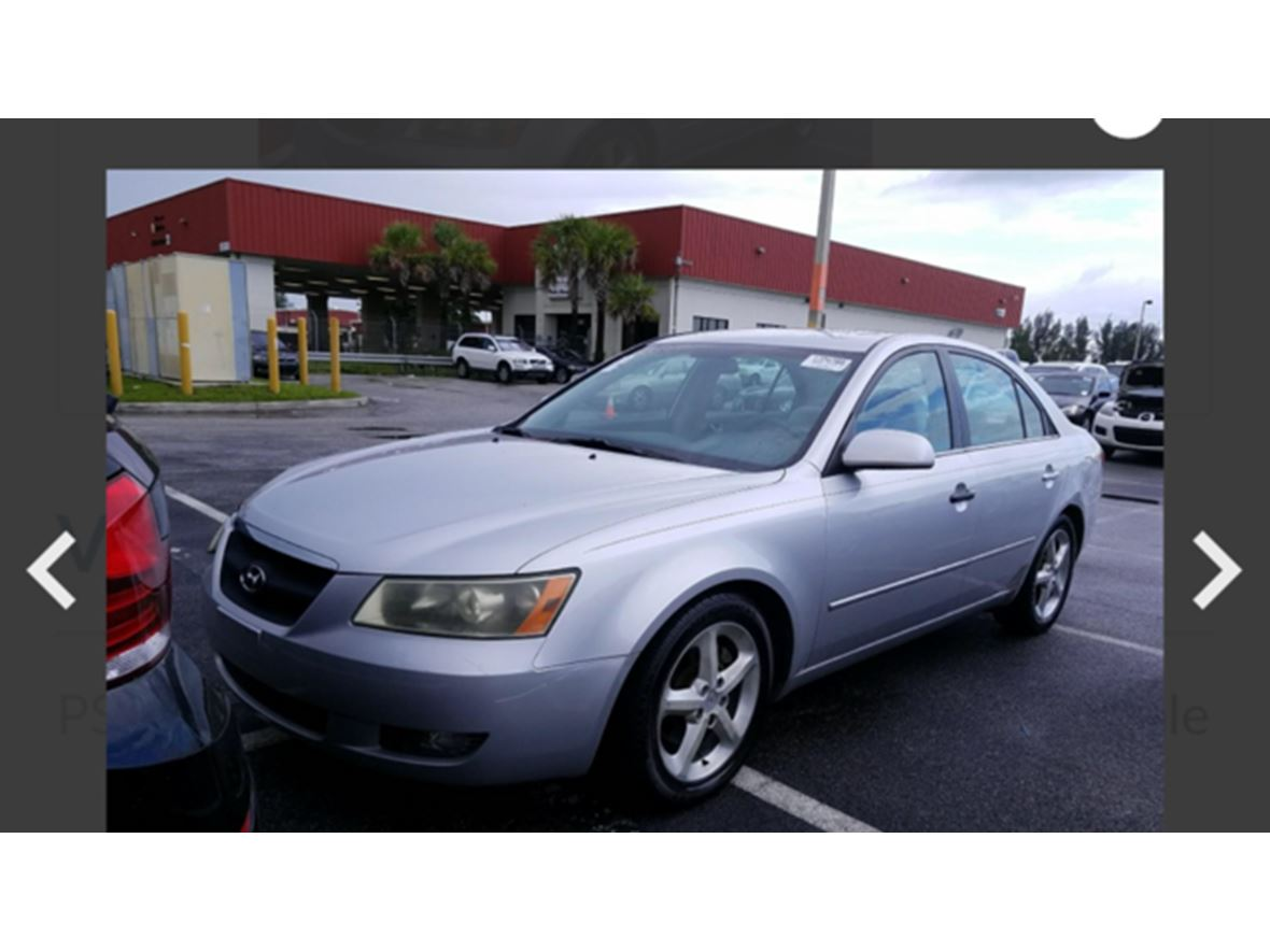 2007 Hyundai Sonata for sale by owner in Boca Raton