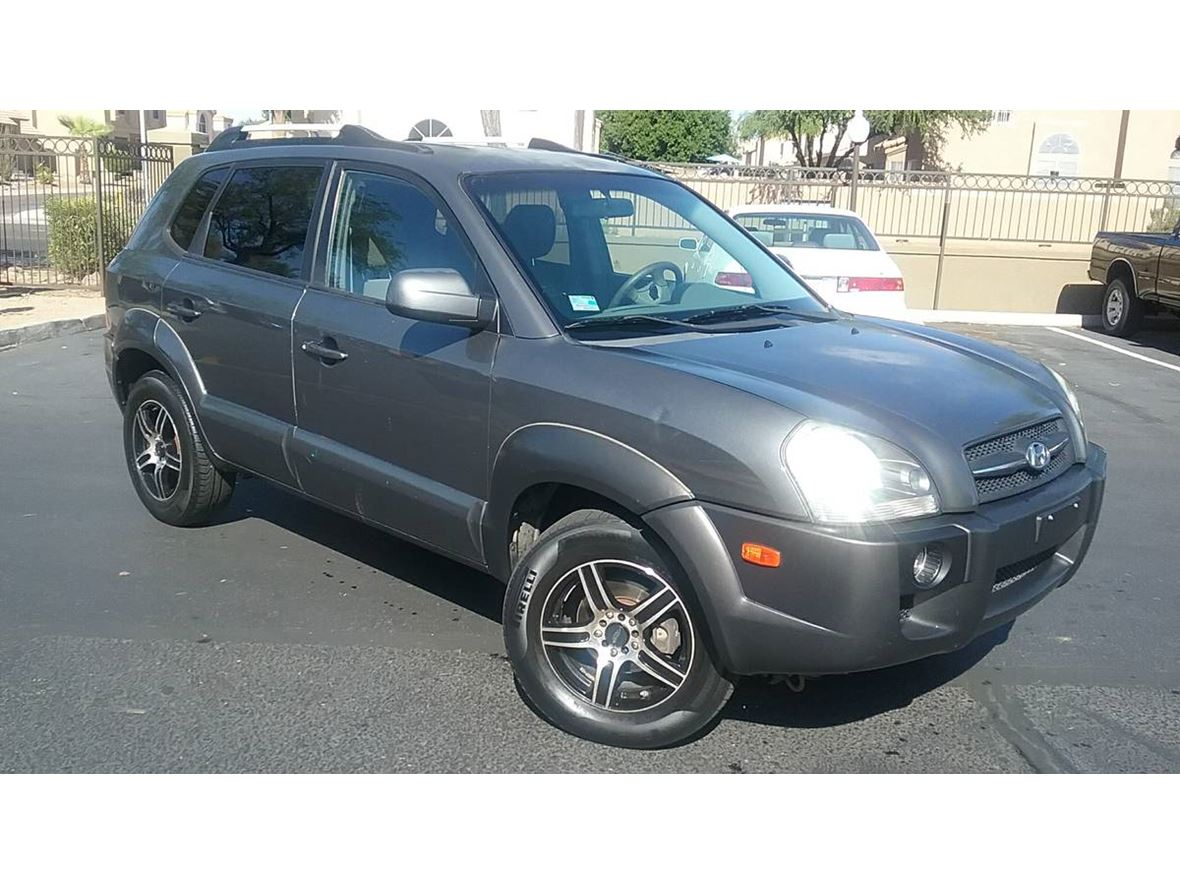 2007 Hyundai Tucson for sale by owner in Phoenix