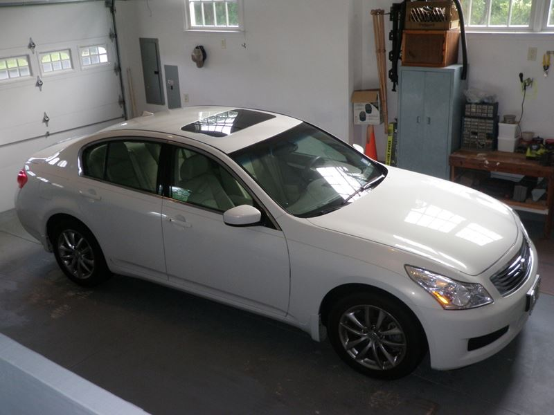 2009 Infiniti G37x 4 Door Sedan 328 Hp By Owner Mount Laurel Nj 08054