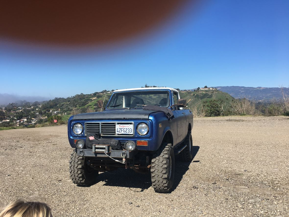 1976 International scout for sale by owner in Santa Barbara