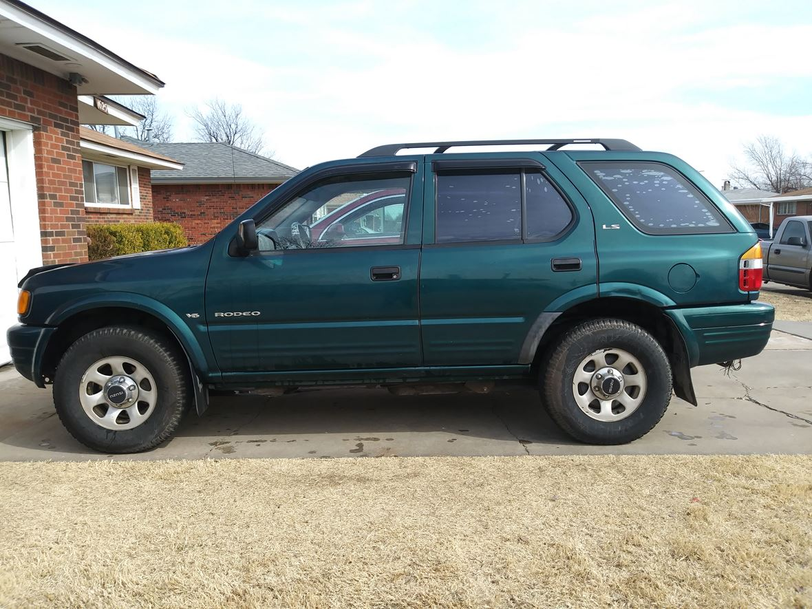 1999 Isuzu Rodeo For Sale By Private Owner In Oklahoma