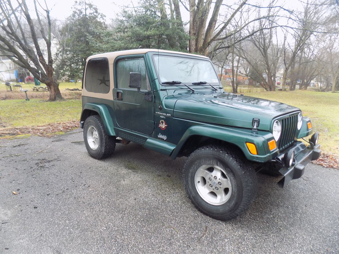 2000 Jeep Wrangler for sale by owner in Windsor