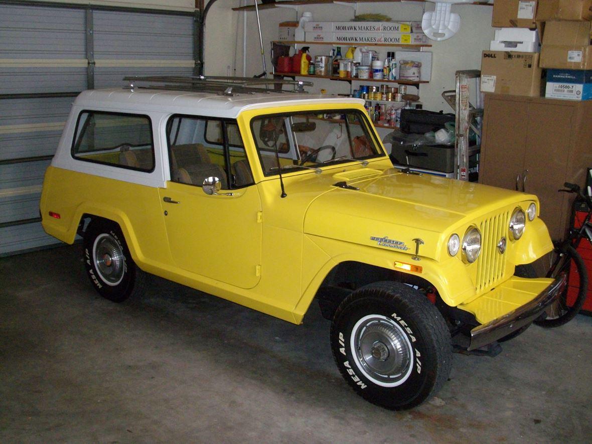 1971 jeep jeepster commando antique car prescott az 86303. Black Bedroom Furniture Sets. Home Design Ideas