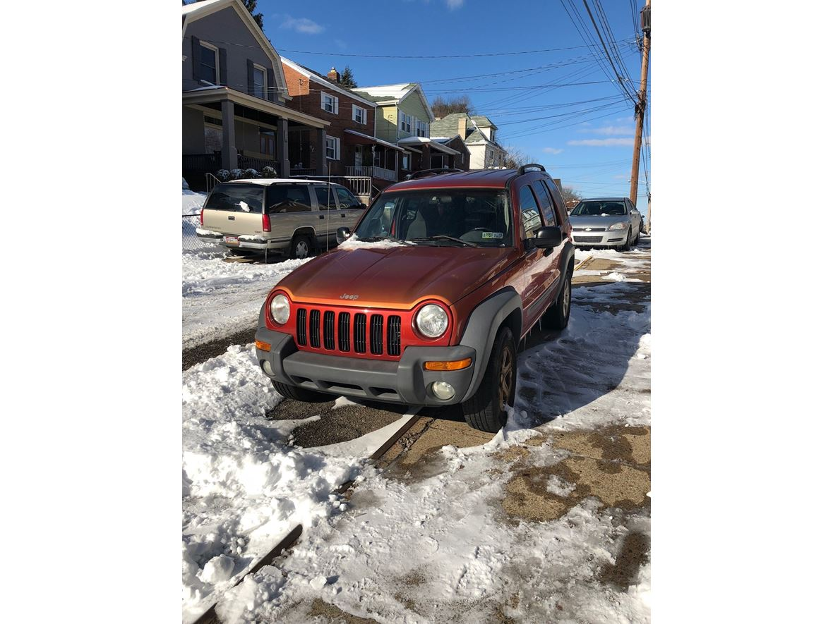 2002 Jeep Liberty for sale by owner in Pittsburgh