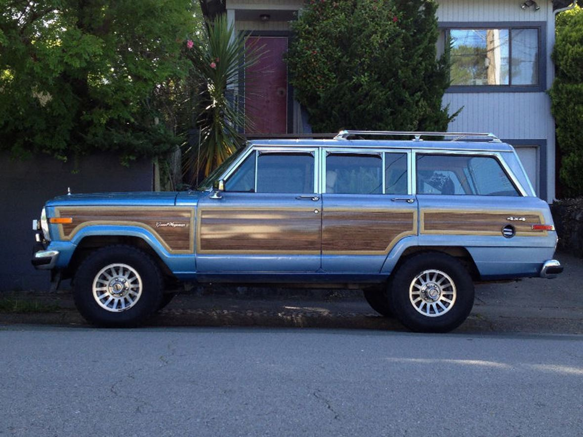1991 jeep wagoneer classic car san diego ca 92199. Black Bedroom Furniture Sets. Home Design Ideas