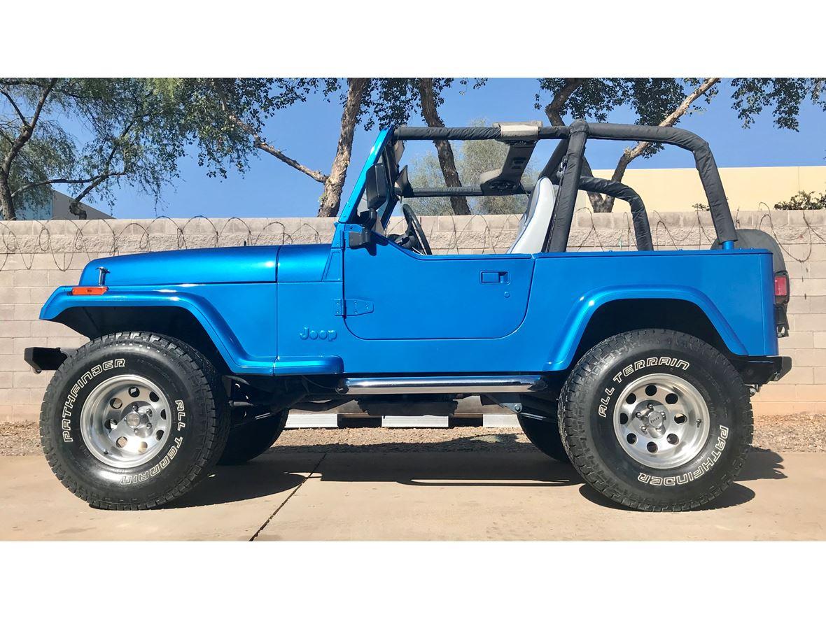 1993 Jeep Wrangler Classic Car Scottsdale Az 85251