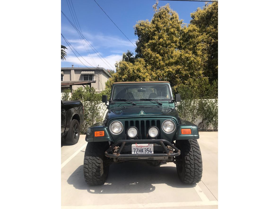 2000 Jeep Wrangler For Sale By Owner In Culver City