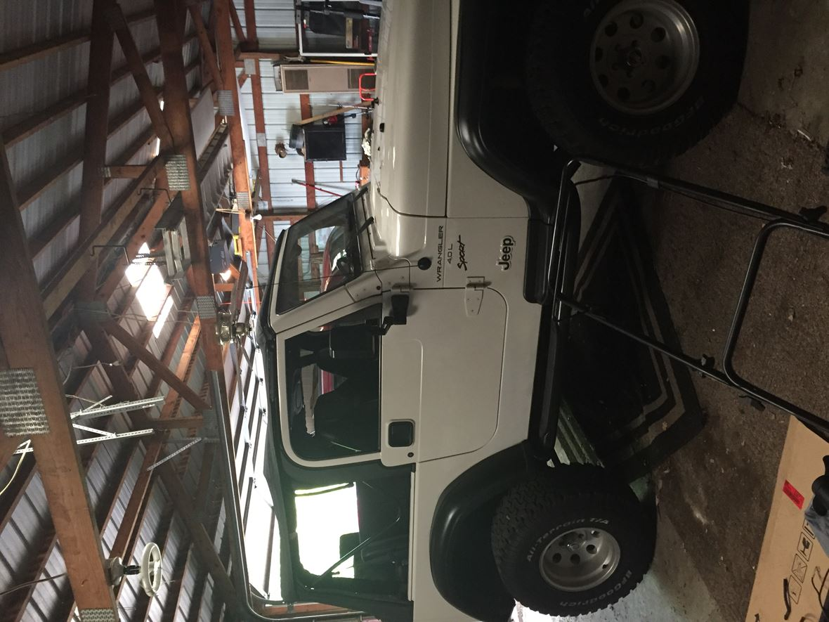 2000 Jeep Wrangler for sale by owner in Martinsville