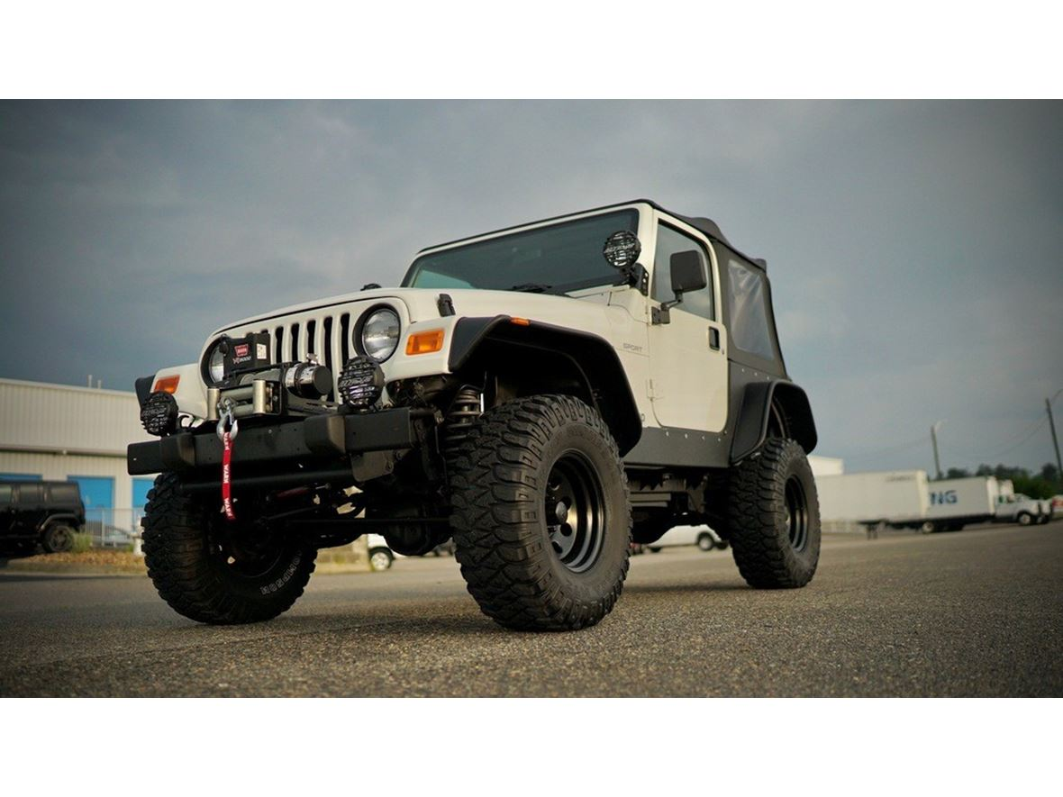 2002 Jeep Wrangler for sale by owner in Sioux Falls