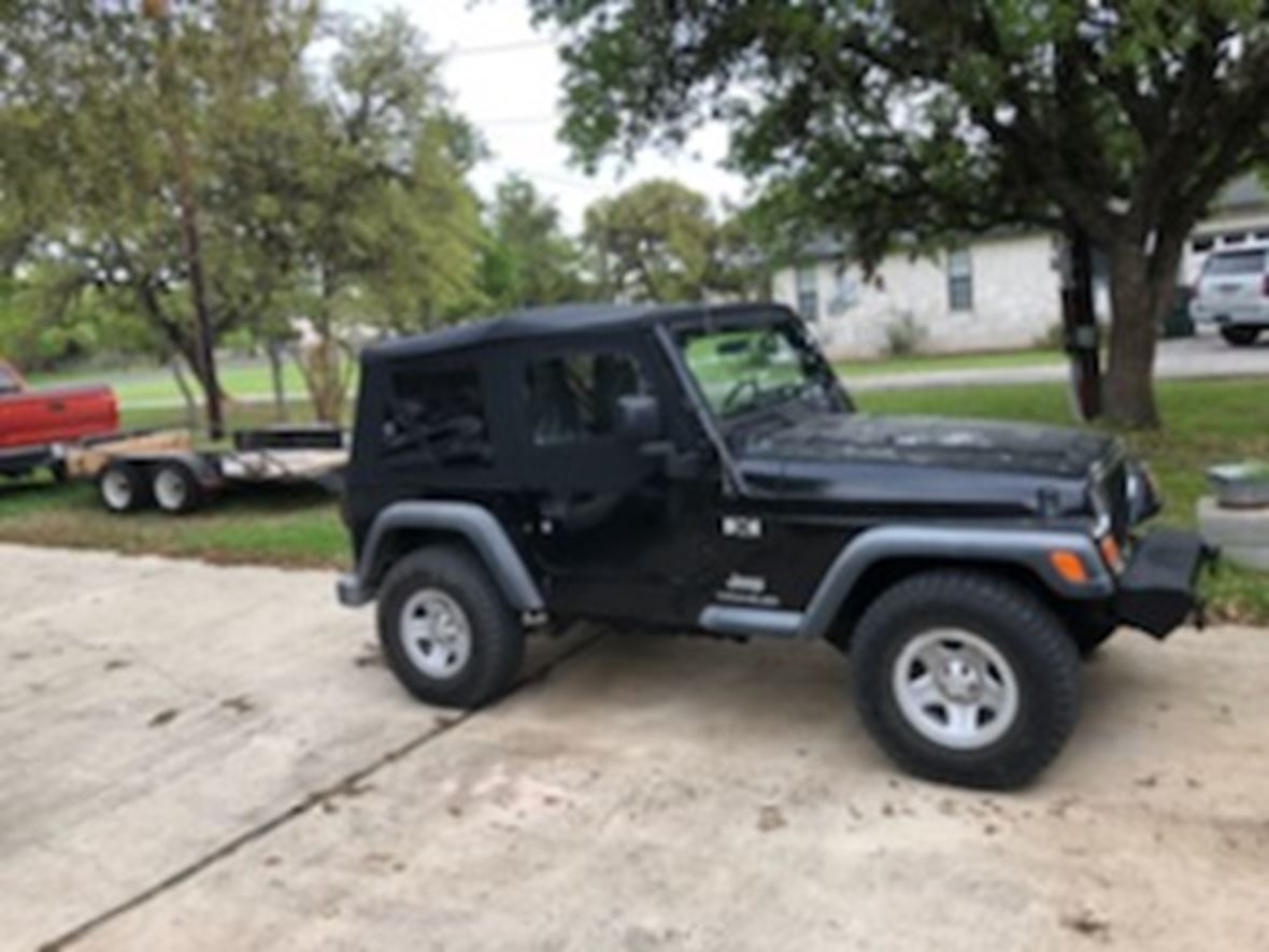 2003 Jeep Wrangler for sale by owner in Bulverde