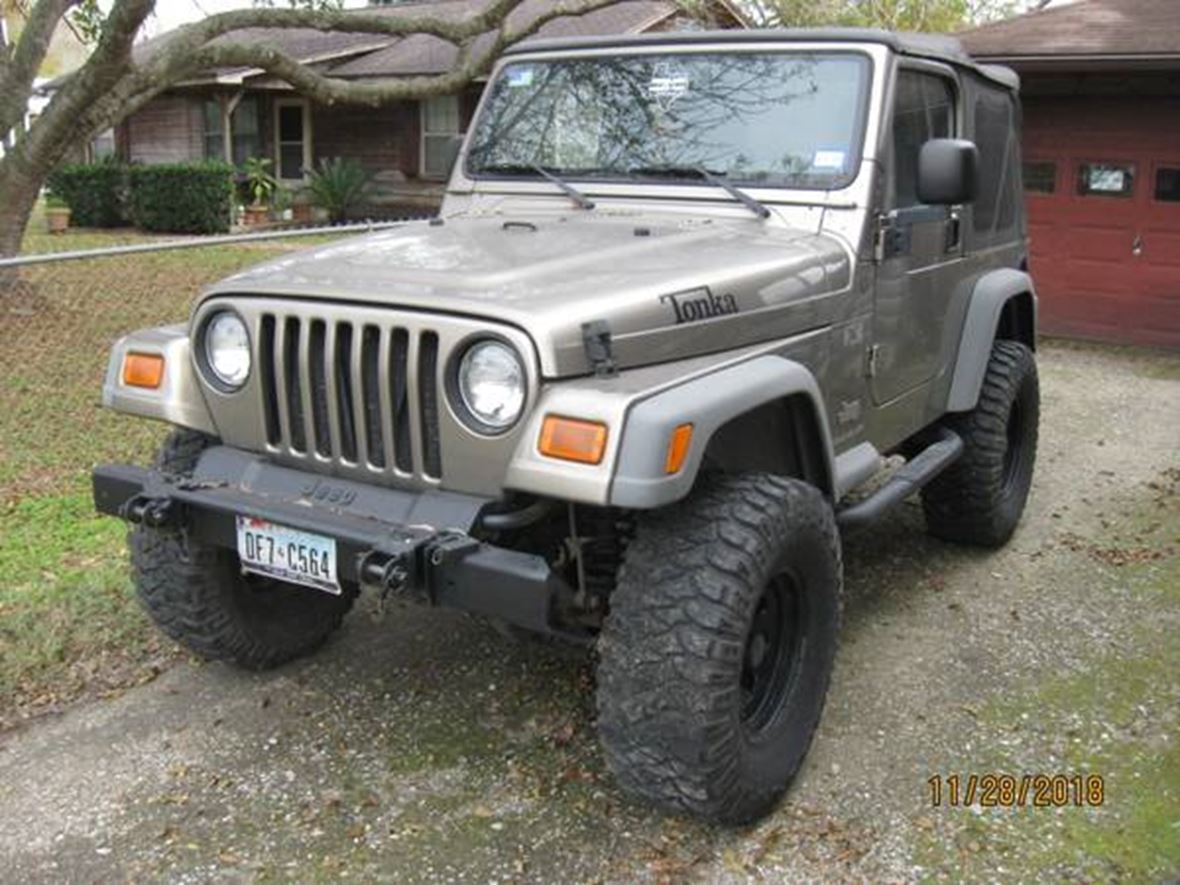 2004 Jeep Wrangler for sale by owner in Pearland