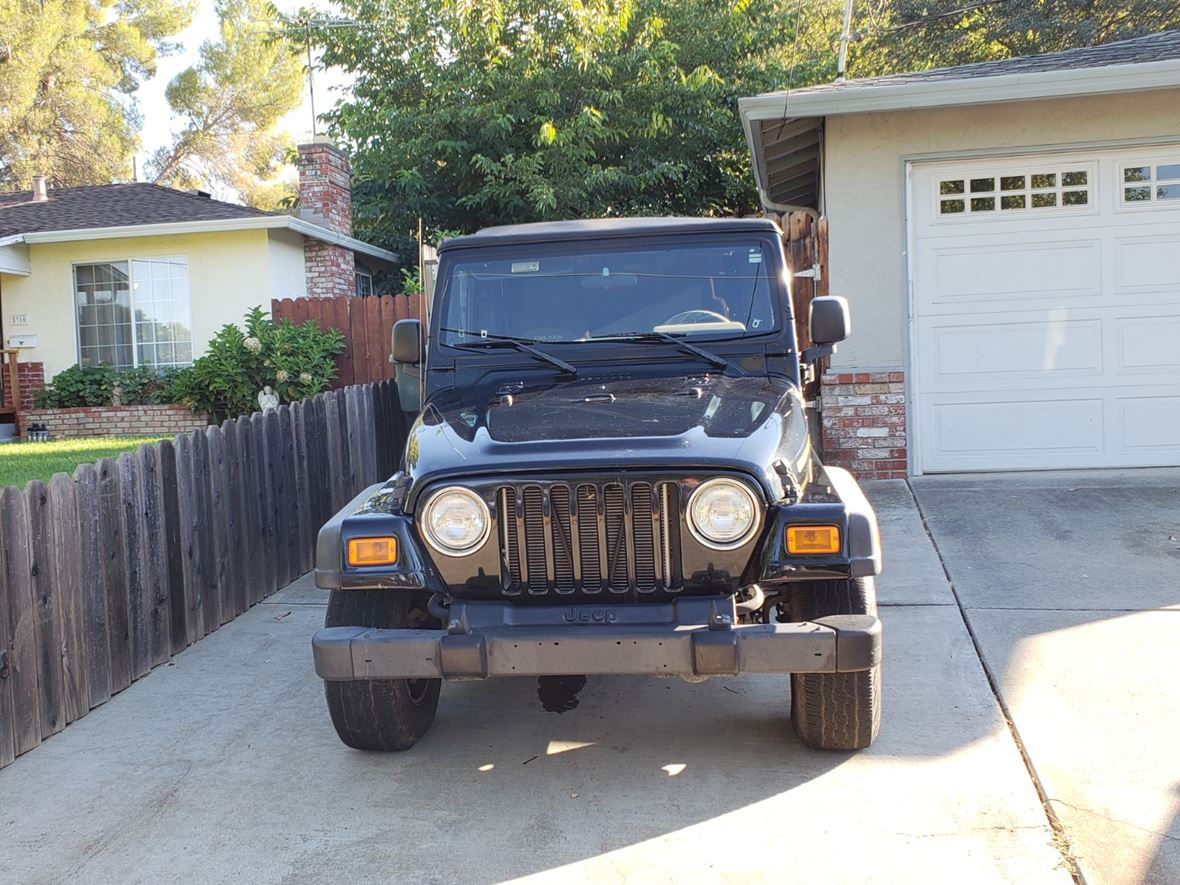 2006 Jeep Wrangler For Sale By Owner In Clayton Ca 94517 Hood