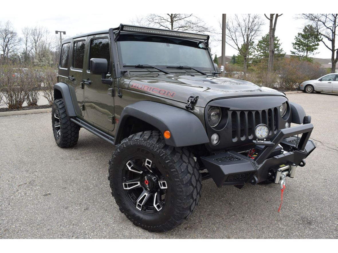 2015 Jeep Wrangler for sale by owner in Manistee