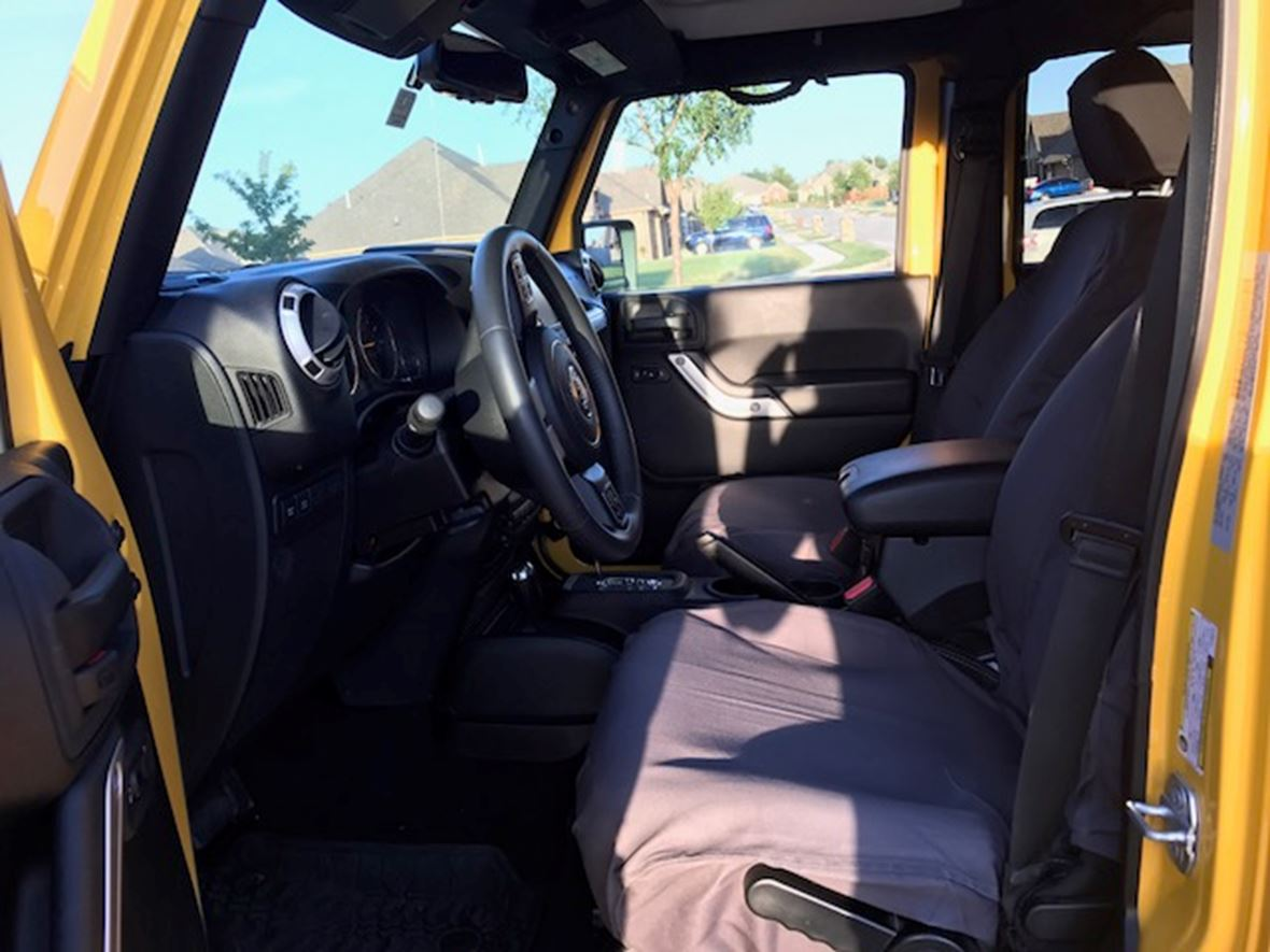 2015 Jeep Wrangler for sale by owner in Oklahoma City