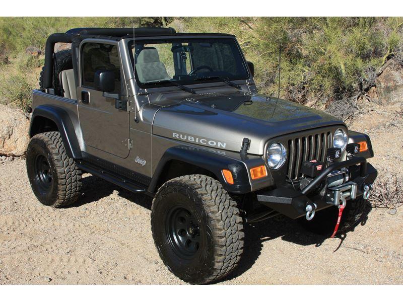 San Diego Jeep >> 2004 Jeep Wrangler Rubincon - Private Car Sale in San