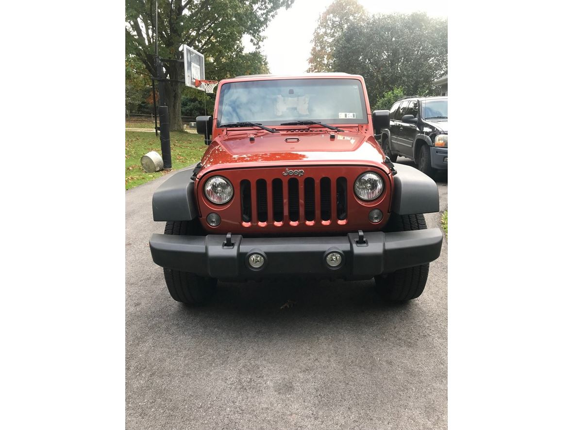 2014 Jeep Wrangler Unlimited for sale by owner in Wayne