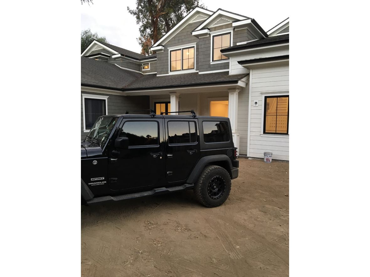 2017 Jeep Wrangler Unlimited for sale by owner in North Hollywood