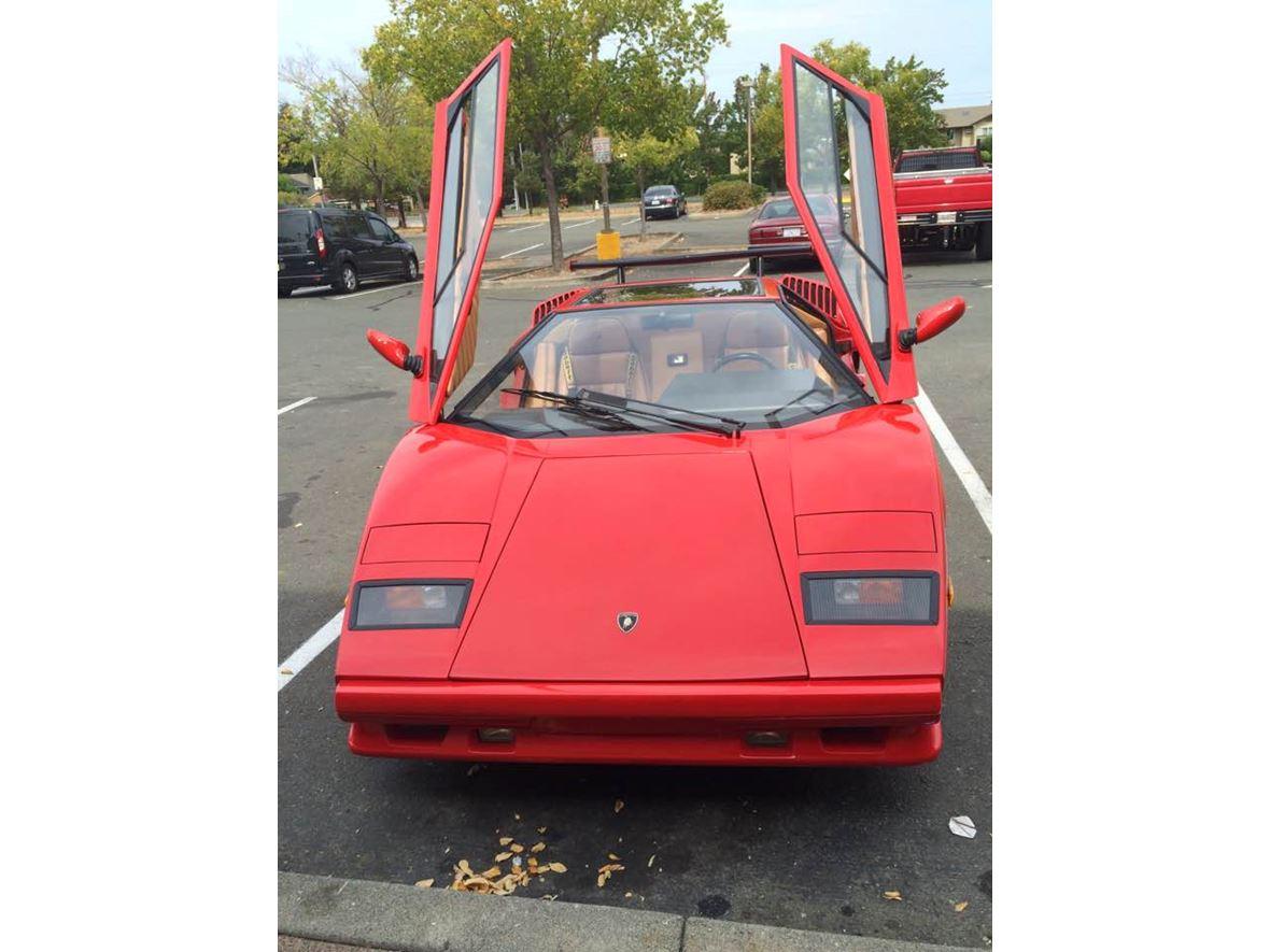 1989 Lamborghini Countach Replica Classic Car Santa Rosa Ca 95402