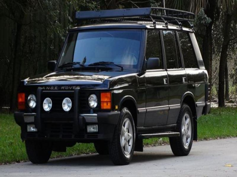 1995 land rover range rover by owner in beverly hills ca 90210. Black Bedroom Furniture Sets. Home Design Ideas