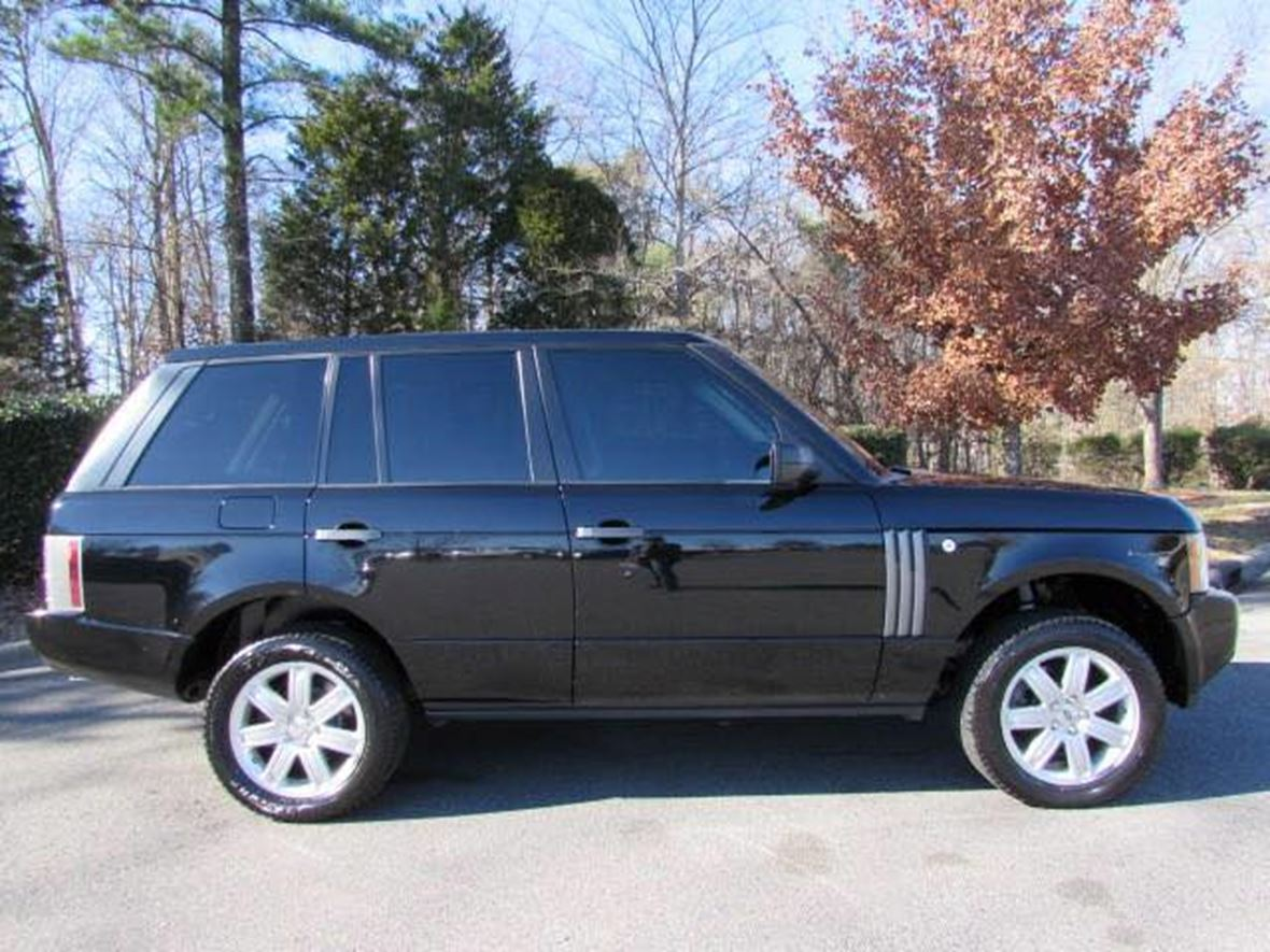 Land Rover Alexandria >> 2006 Land Rover Range Rover Sale by Owner in Alexandria ...