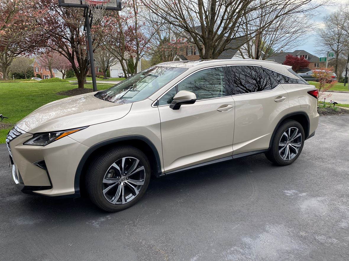2016 Lexus RX 350 for sale by owner in Ellicott City