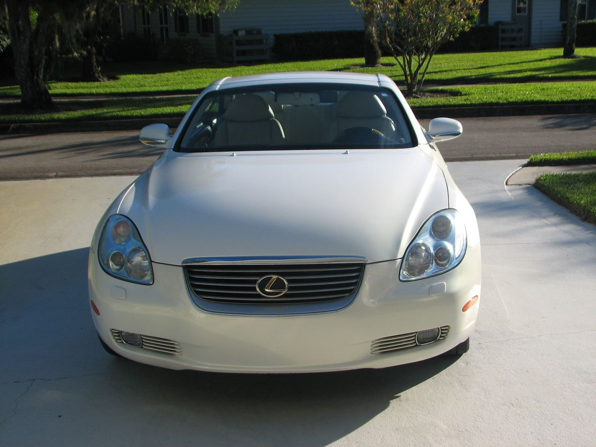 2002 Lexus SC 430 for sale by owner in Vero Beach