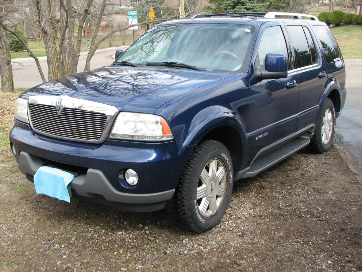 2004 lincoln aviator for sale by owner in big lake mn 55309. Black Bedroom Furniture Sets. Home Design Ideas