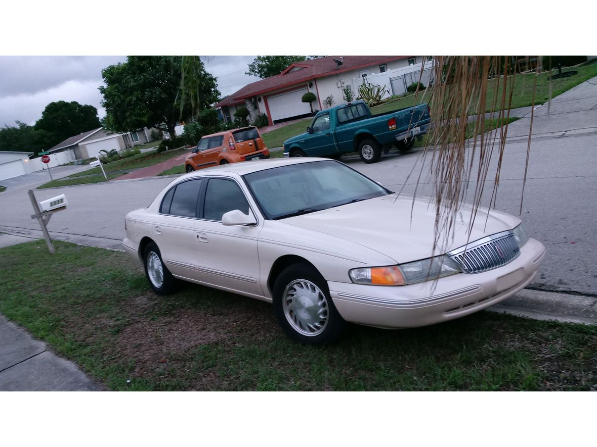 1996 Lincoln Continental For Sale By Owner In Sarasota Fl 34278