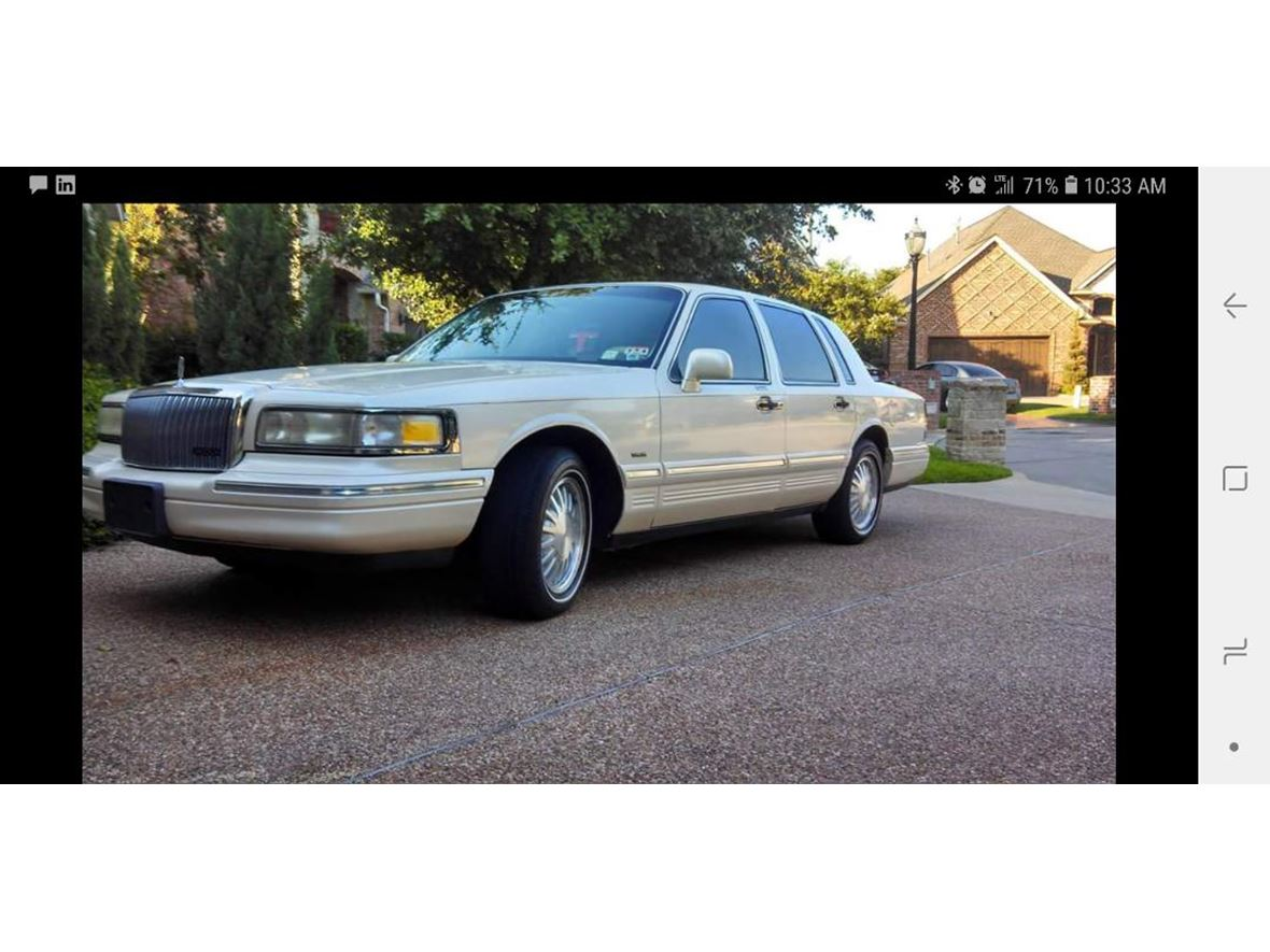 1995 Lincoln Town Car For Sale By Owner In Hurst Tx 76054