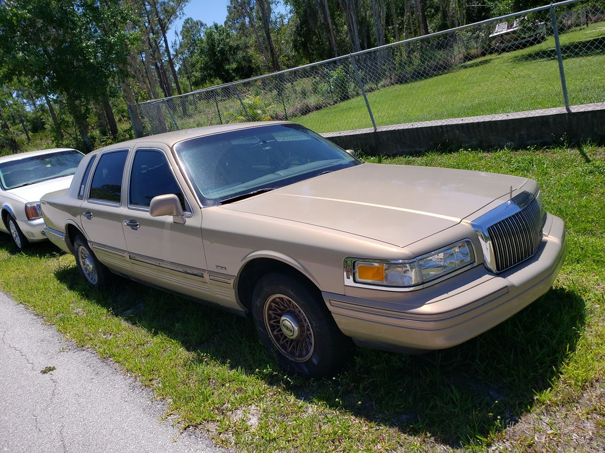 1996 Lincoln Town Car For Sale By Owner In Punta Gorda Fl 33955