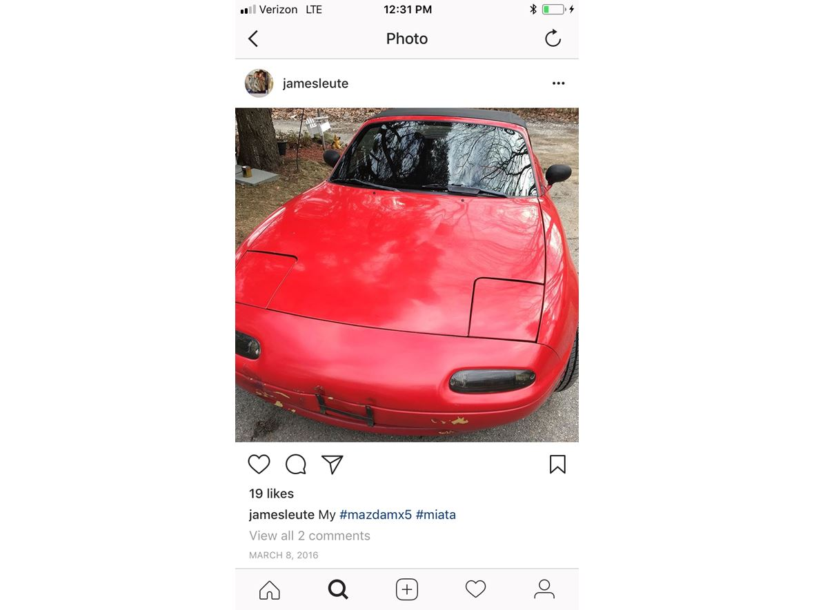 1991 Mazda Mx-5 Miata for sale by owner in Mahopac
