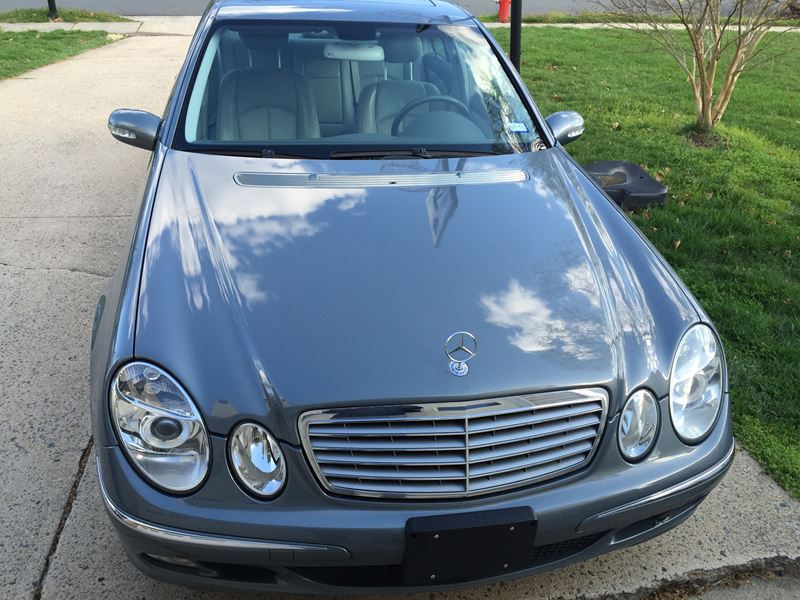 2004 Mercedes Benz E320 For Sale By Owner In Reston