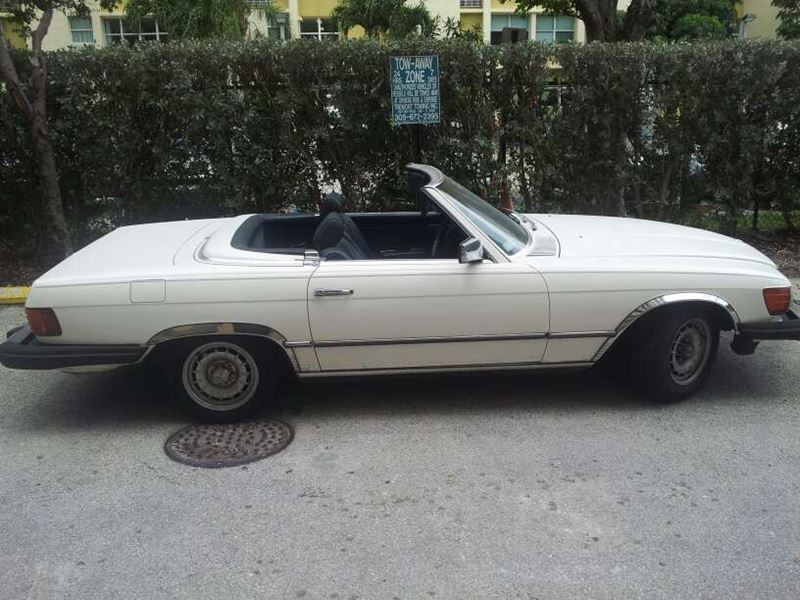 Cars For Sale Miami Beach: 1983 Mercedes-Benz 380