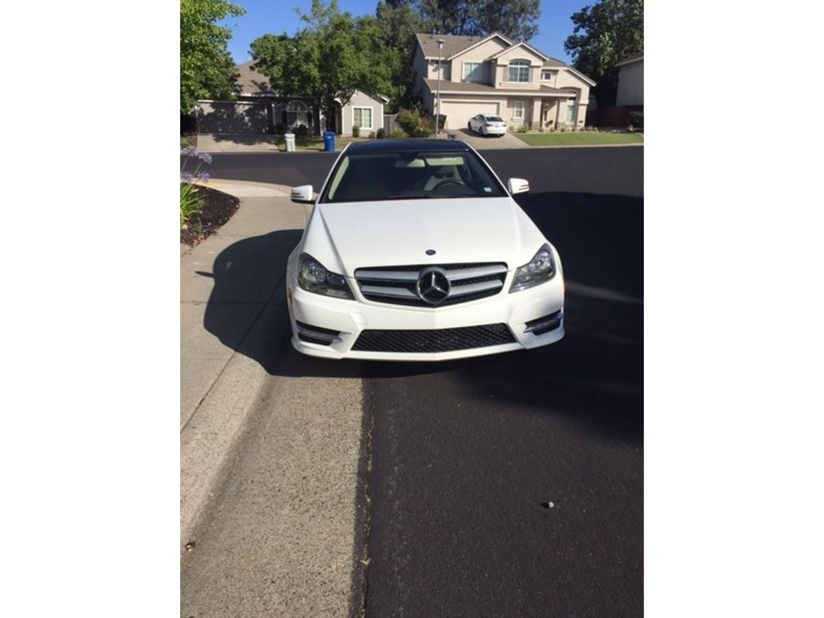 2013 Mercedes-Benz C-Class for sale by owner in Folsom