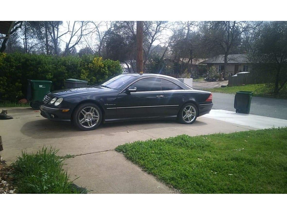 2004 Mercedes-Benz CL55AMG for sale by owner in Red Bluff