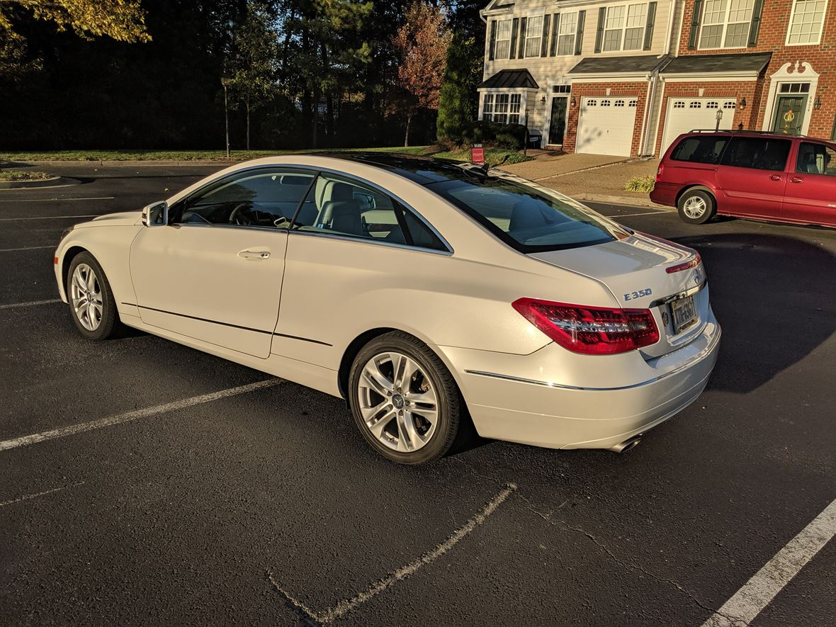 2011 Mercedes-Benz E-Class for sale by owner in Henrico