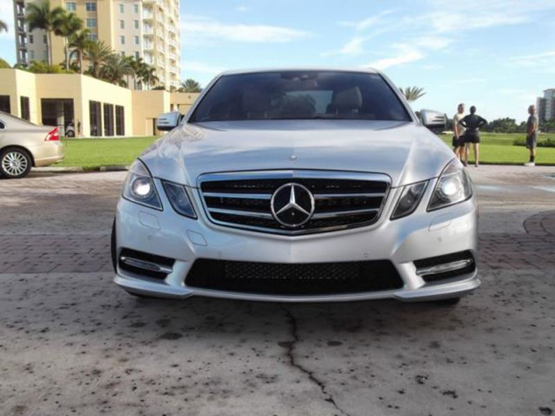 2013 Mercedes-Benz E-class Sale by Owner in Lake Worth, FL ...