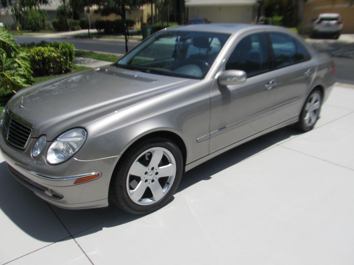 2006 mercedes benz e class 500 private car sale in naples fl 34119. Black Bedroom Furniture Sets. Home Design Ideas