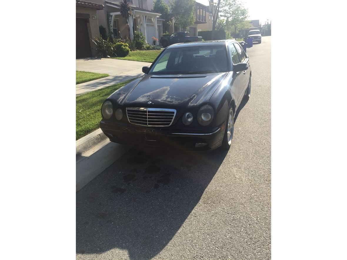 2001 Mercedes-Benz e320 for sale by owner in Upland
