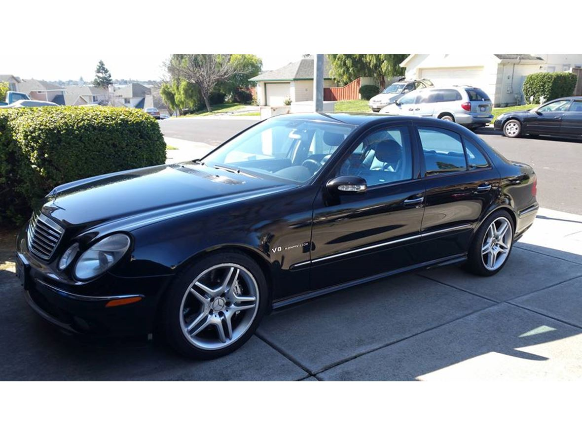 2003 mercedes benz e55 amg for sale by owner in vallejo. Black Bedroom Furniture Sets. Home Design Ideas