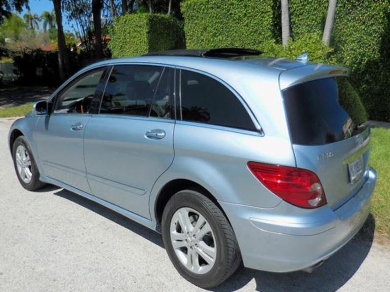 2006 Mercedes Benz R Class By Owner Palm Beach Gardens Fl