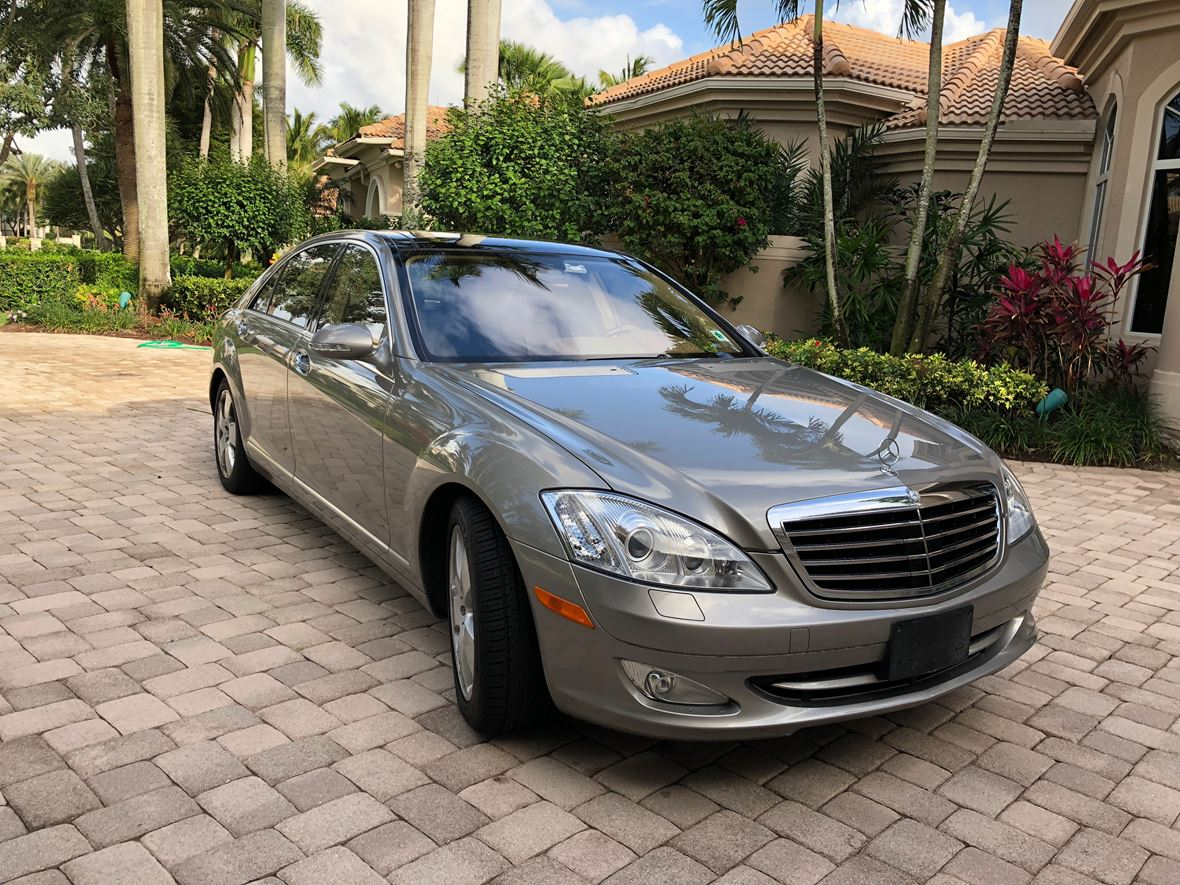 2007 Mercedes Benz S Class By Owner Palm Beach Gardens Fl
