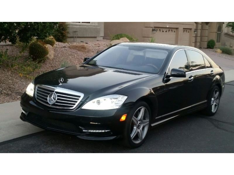 2010 Mercedes Benz S Class Sale By Owner In Casa Grande