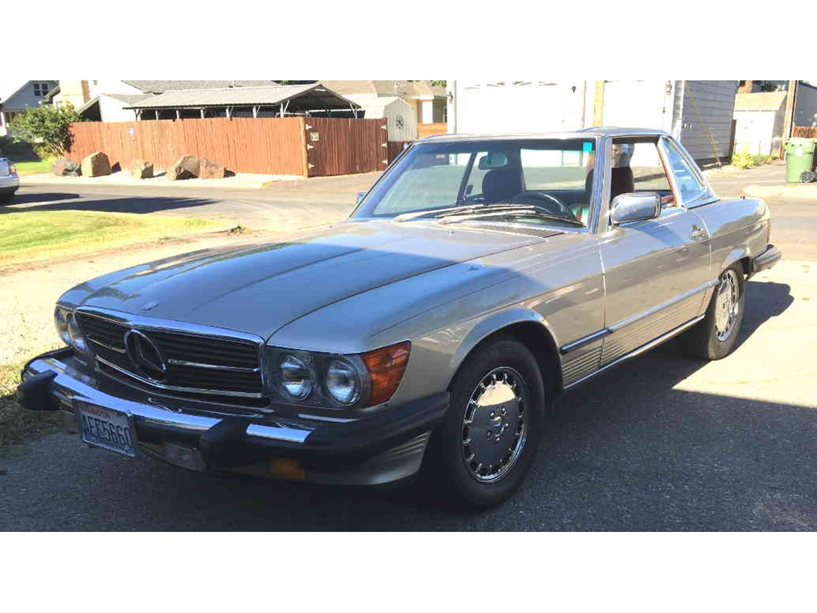 1987 Mercedes-Benz SL-Class 560 for sale by owner in Spokane